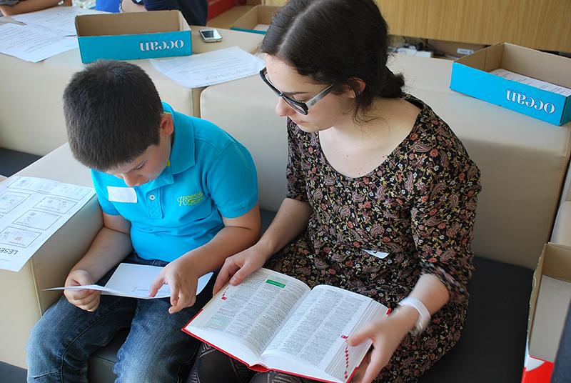 Lesen verbindet: Gymnasium Neusiedl am See